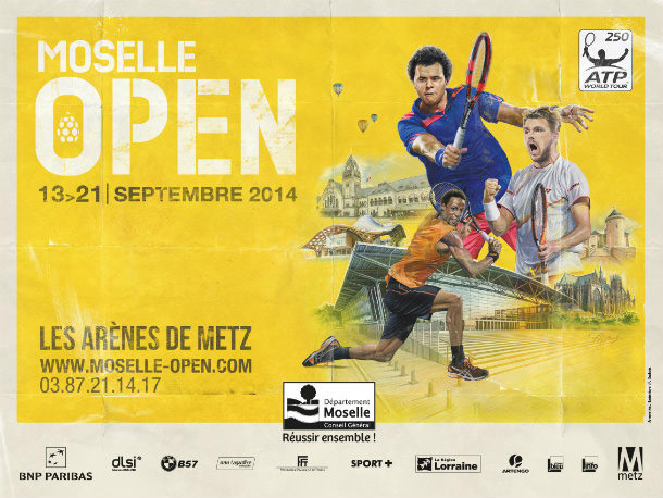 Moselle Open : 2 Wild Cards pour Laurent Lokoli et Corentin Moutet