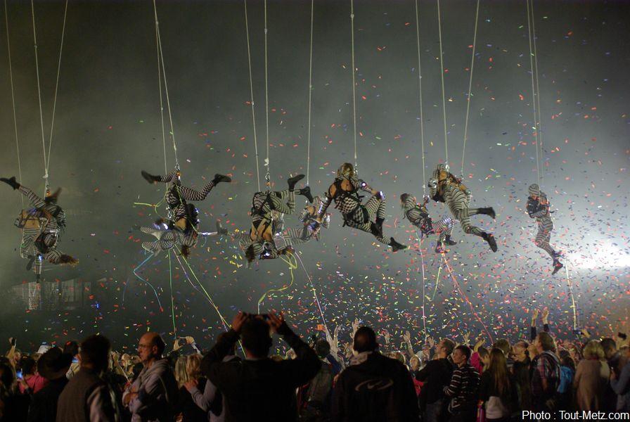 Concert, spectacle aérien et feu d'artifice pour la mirabelle à Metz (photos)