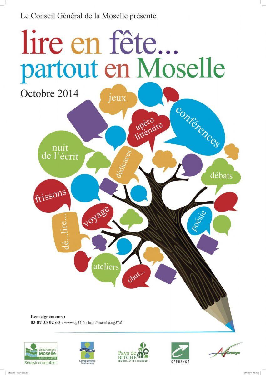 Lire en Fête 2014 : 265 animations dans 89 bibliothèques de Moselle