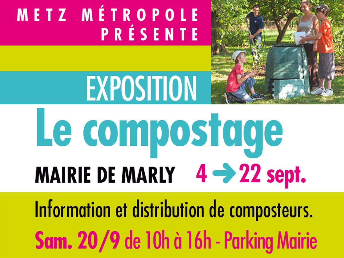 «Le compostage», une exposition à découvrir à Marly