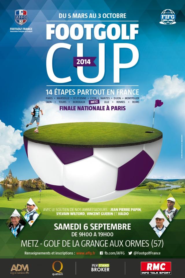 Sport : une étape de la FootGolf Cup se jouera du côté de Metz