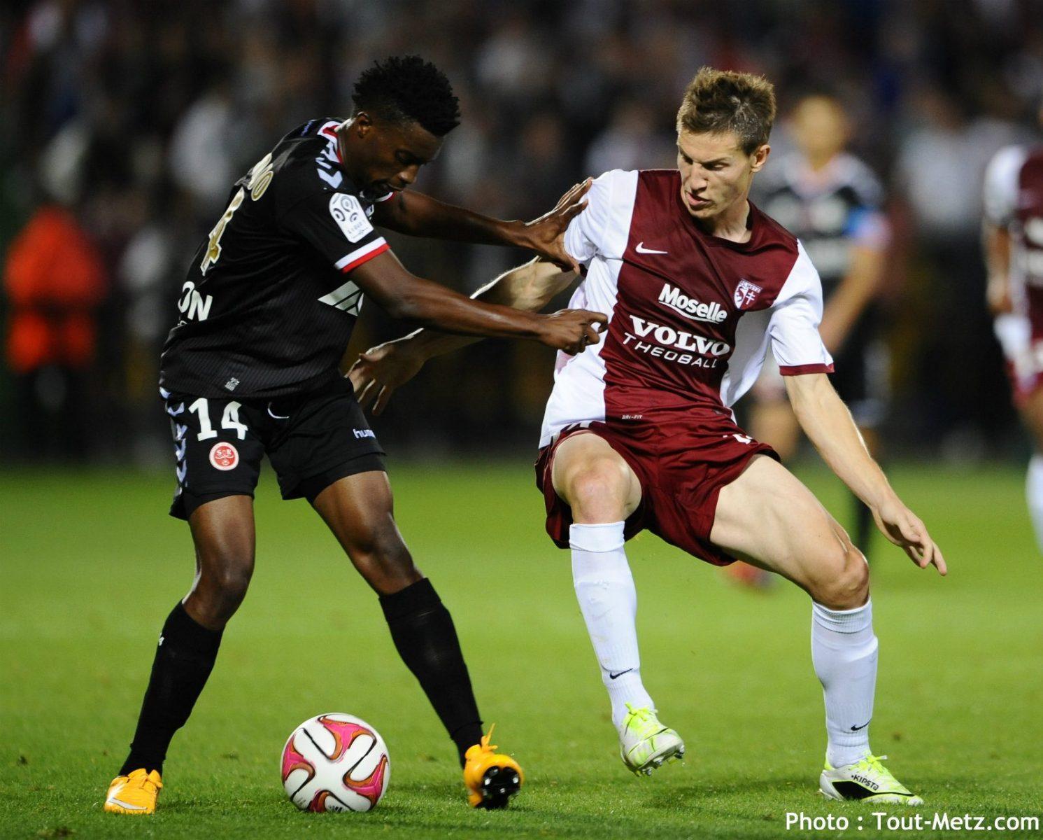 3ème victoire d'affilée pour le FC Metz, les notes des joueurs
