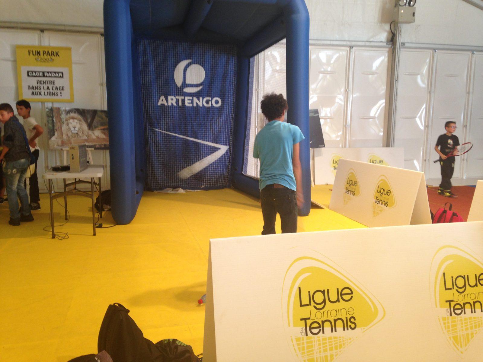 Le Fun Park de Moselle Open vu par les enfants : des rires et du sport