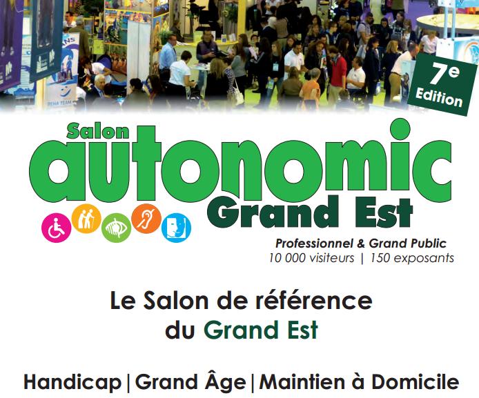 Salon Autonomic Grand Est à Metz : le rendez-vous grand âge et handicap