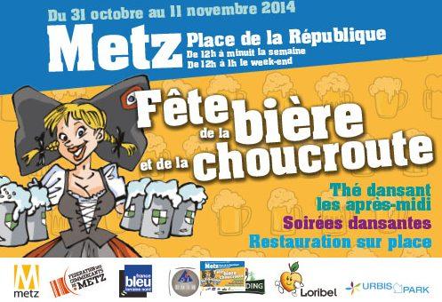 Fête de la bière et de la choucroute à Metz