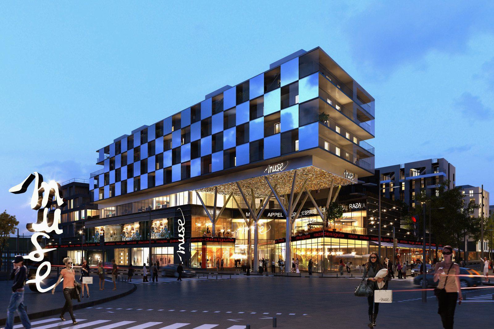Photo de Enfin du concret pour le Centre commercial Muse de Metz et ses 37 000m2