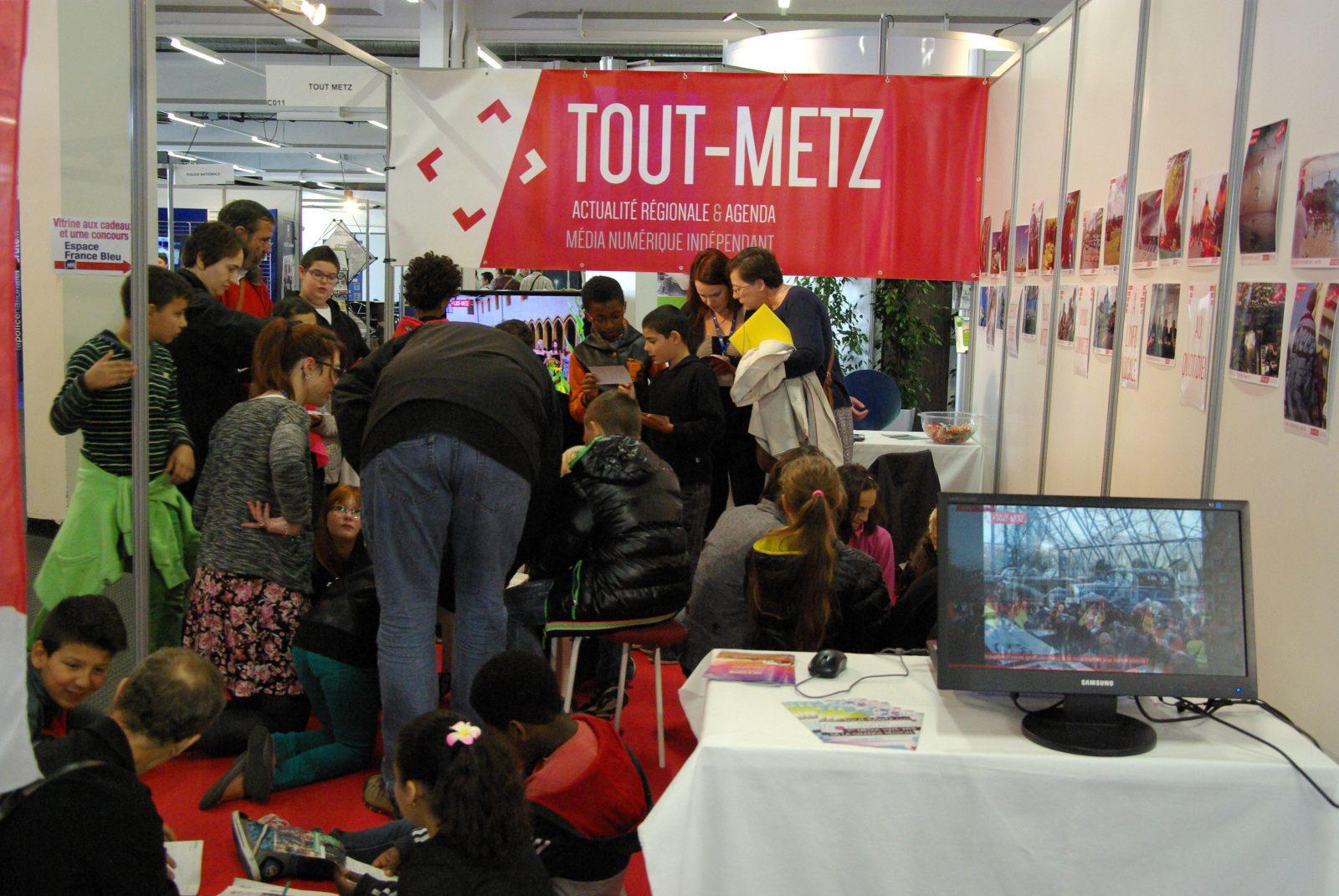 FIM 2014 : quand les enfants s'initient au webjournalisme avec Tout-Metz