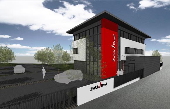 Le nouveau siège de Zwick France - Crédit : Zwick France.