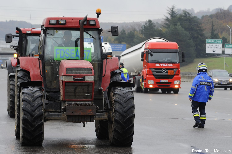 Photo of Manifestation des agriculteurs en Moselle : le point sur les conditions de circulation à 11h