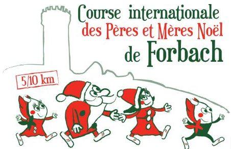 Course des Pères et Mères Noël à Forbach : 10ème édition