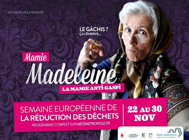 Metz Métropole : réduisez-vos déchets avec la «Mamie anti-gaspi»