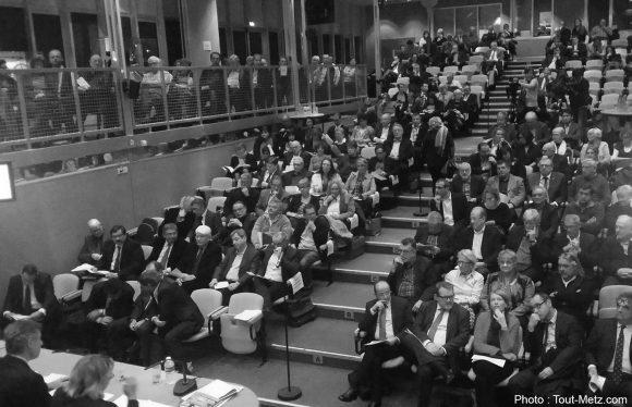 Le Conseil de Communauté de Metz Métropole du 17 novembre 2014.