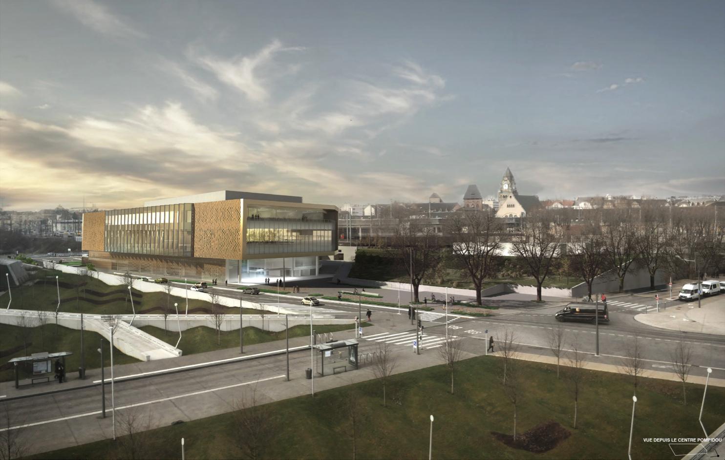 Photo de Centre des Congrès à Metz : la 1ère image du projet à découvrir ici
