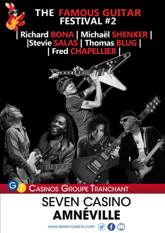 Le Famous Guitar Festival s'empare du Seven Casino d'Amnéville