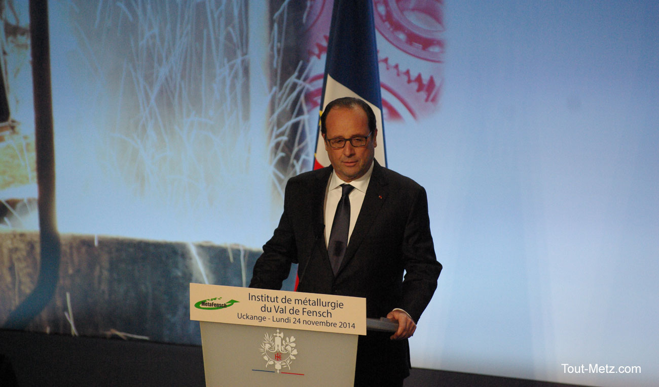 François Hollande en visite en Lorraine aujourd'hui