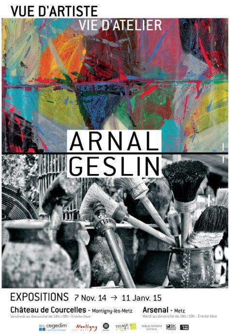 Une exposition pour 2 regards : Arnal/Geslin, peintre et photographe