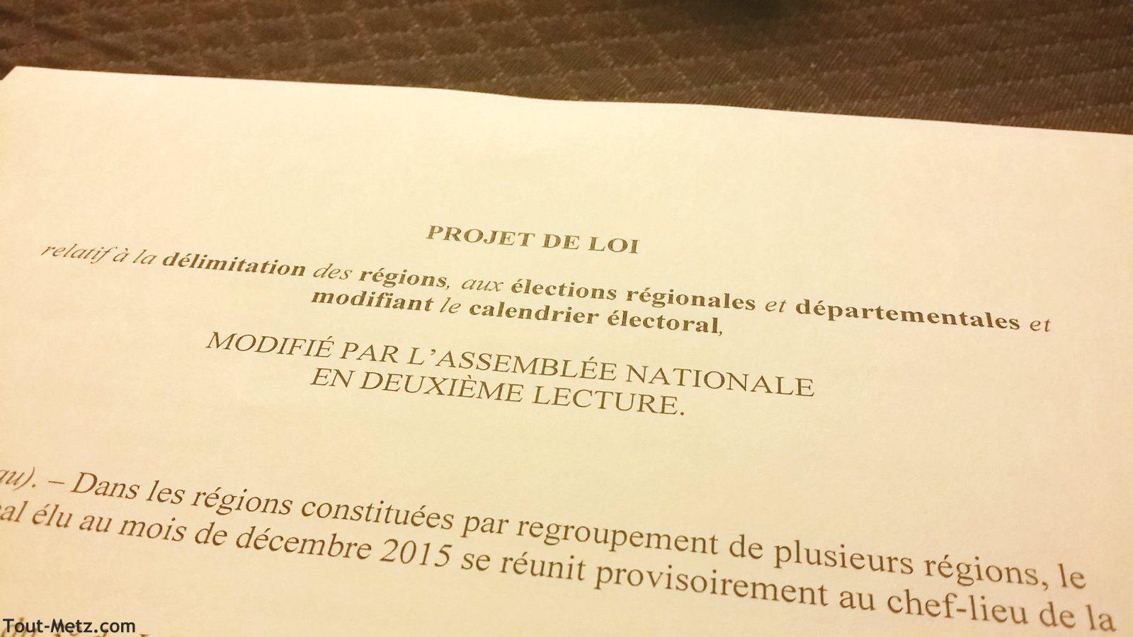 Photo of Consensus au Conseil municipal sur la position de Metz dans l'ALCA