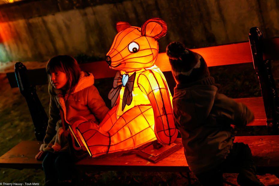 Metz : plus de 100 000 visiteurs au Sentier des Lanternes en 2014