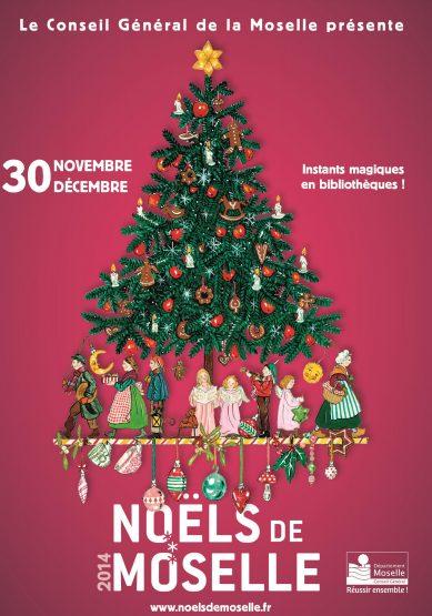 Noëls de Moselle : les bibliothèques s'en mêlent
