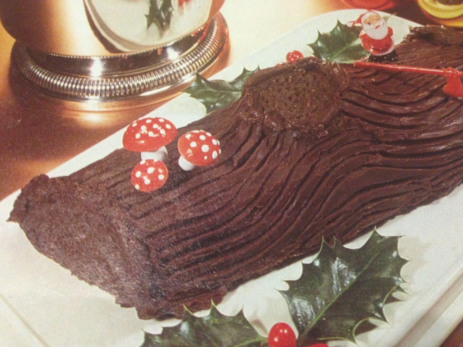 Photo de La recette facile de la bûche de Noël au chocolat