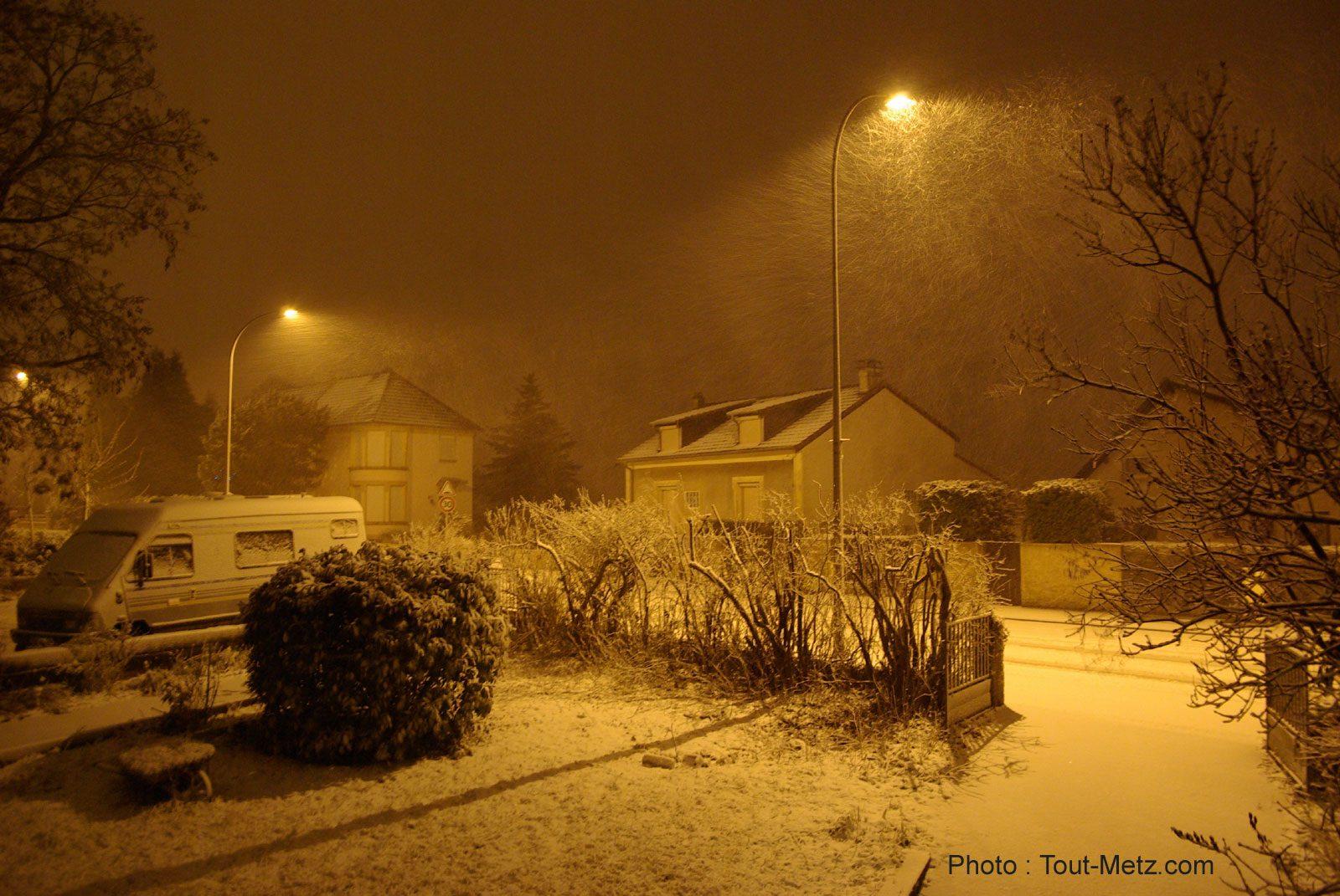 Chutes de Neige en Lorraine samedi 27 décembre 2014 : le point sur la situation