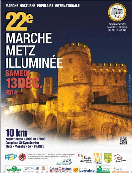 Découvrir Metz de nuit avec la Marche Metz Illuminée