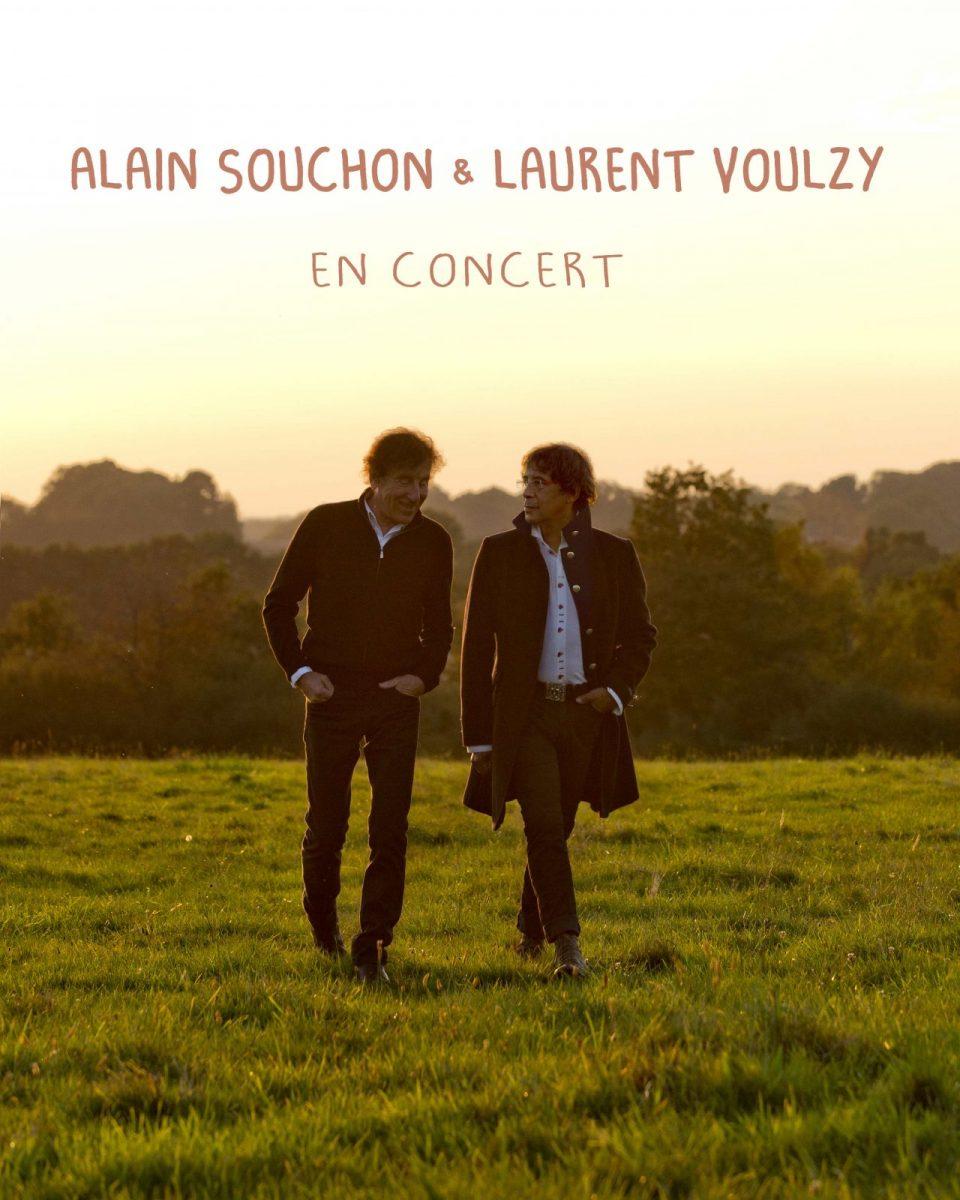 Photo of Concert : Alain Souchon et Laurent Voulzy sur la scène du Galaxie