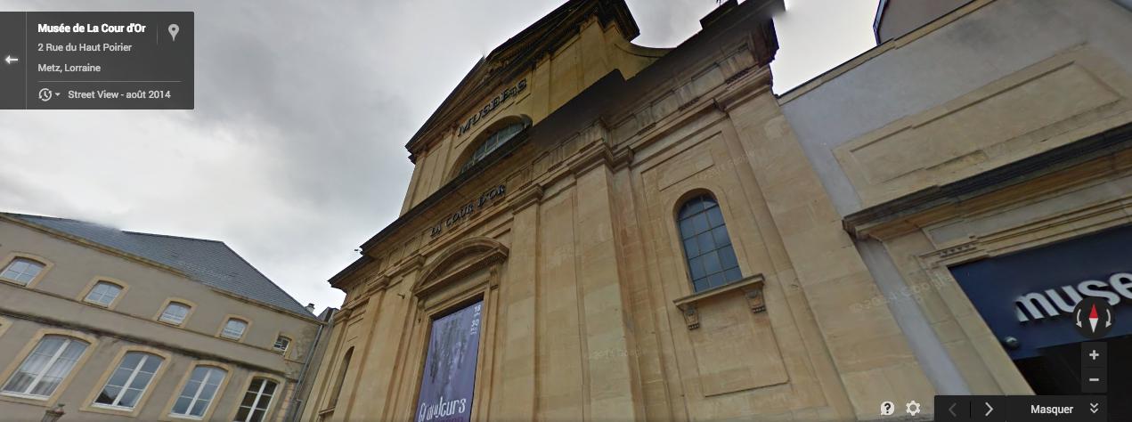 Photo de Metz : l'entrée du Musée de la Cour d'Or déménage