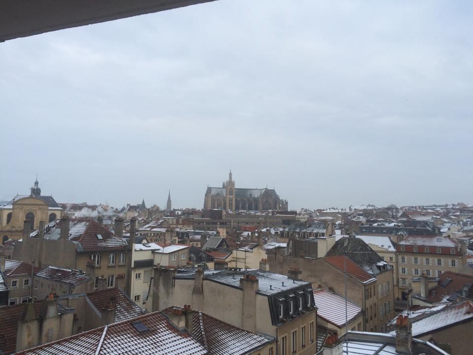 Météo : de la neige annoncée à Metz ce samedi