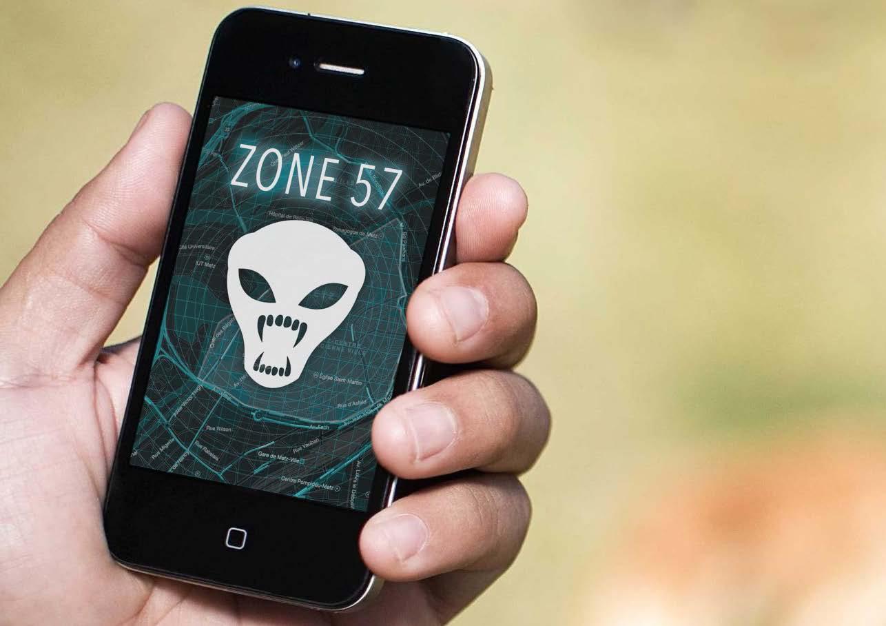 Insolite à Metz : une application mobile pour chasser les aliens