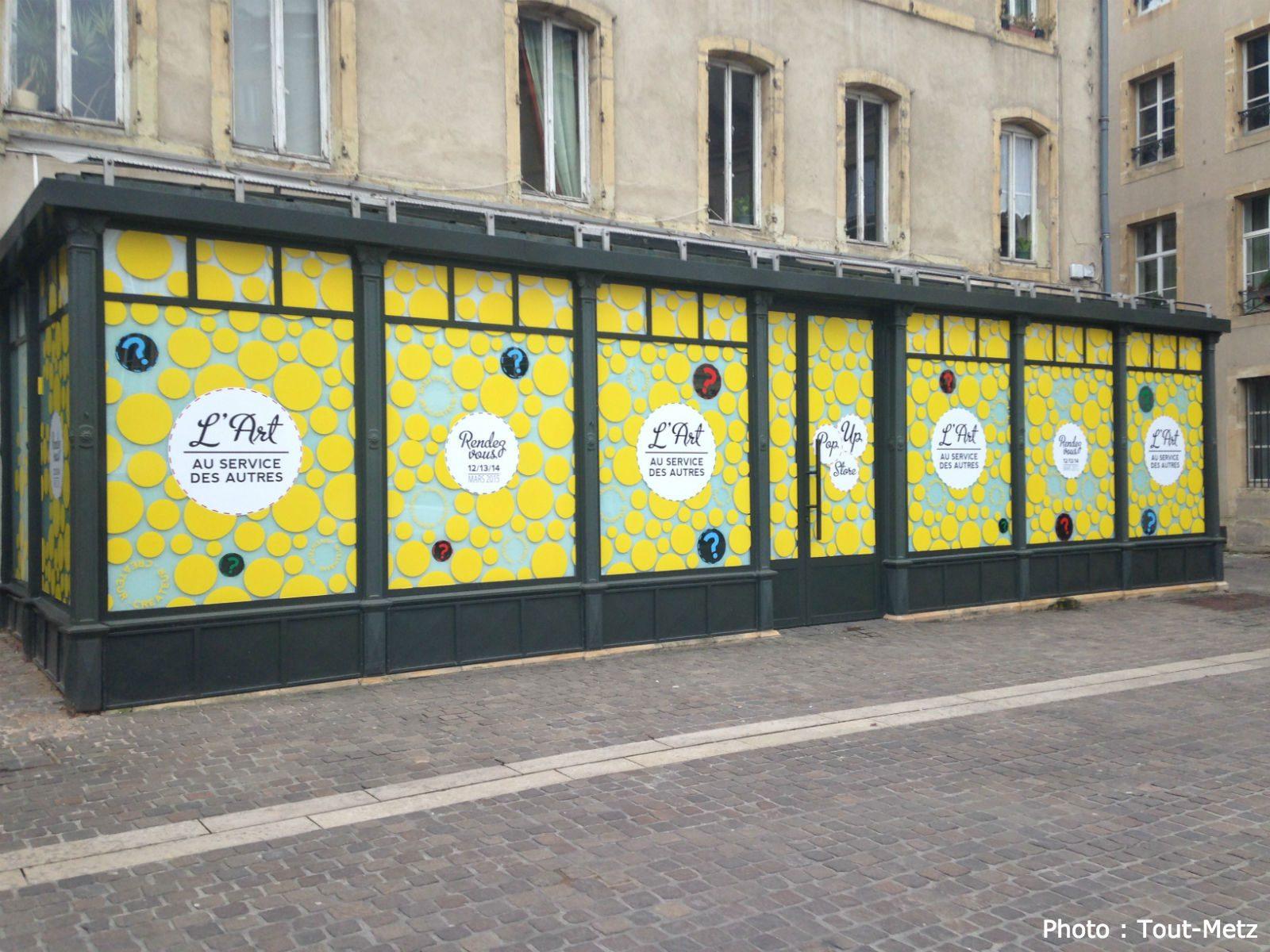 Un Pop'Up Store à Metz : avec des produits 100% mosellans «uniquement»