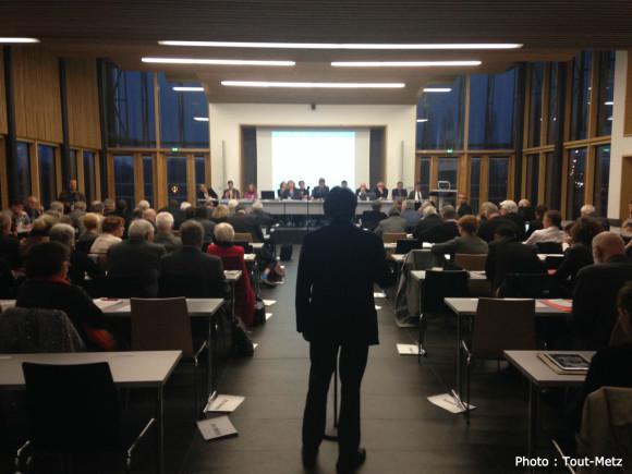 Le Conseil de Communauté de Metz Métropole du 16 mars 2015.
