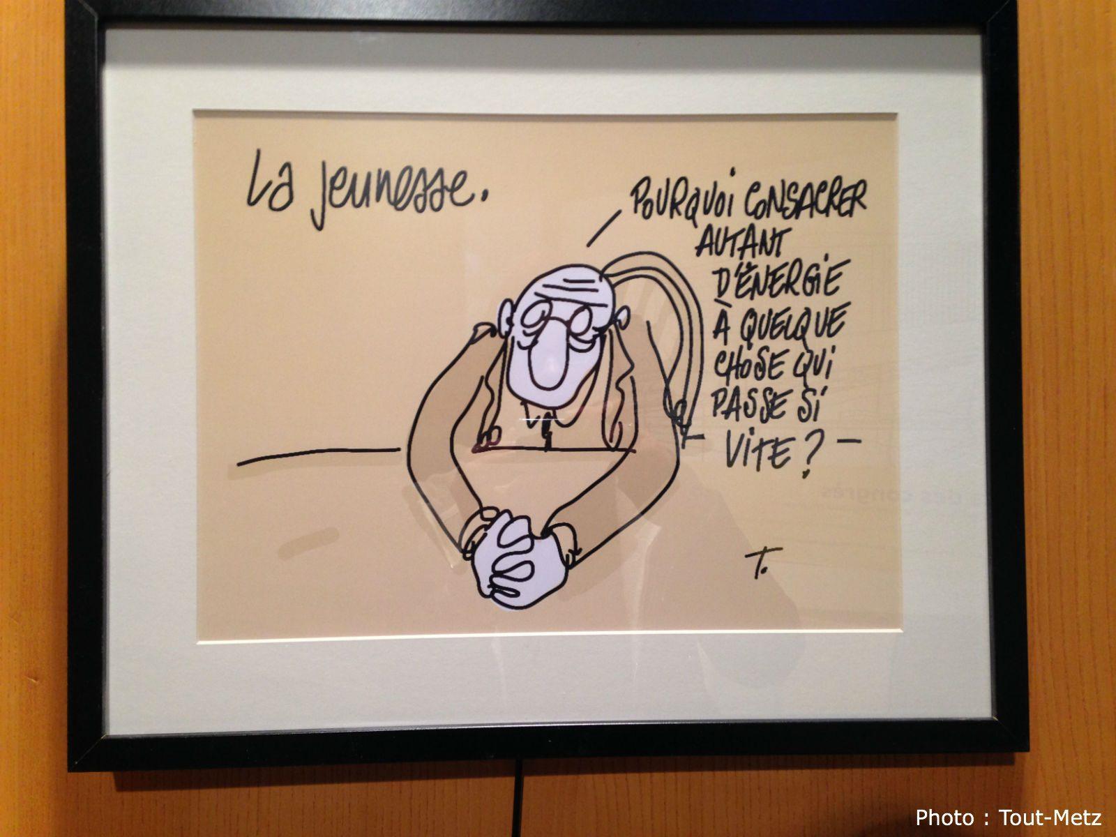 Charlie Hebdo : une exposition «Hommage à Tignous» à Metz