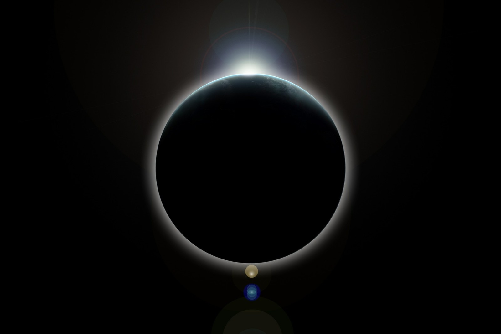 L'éclipse solaire du 20 mars à Metz : la photo du phénomène
