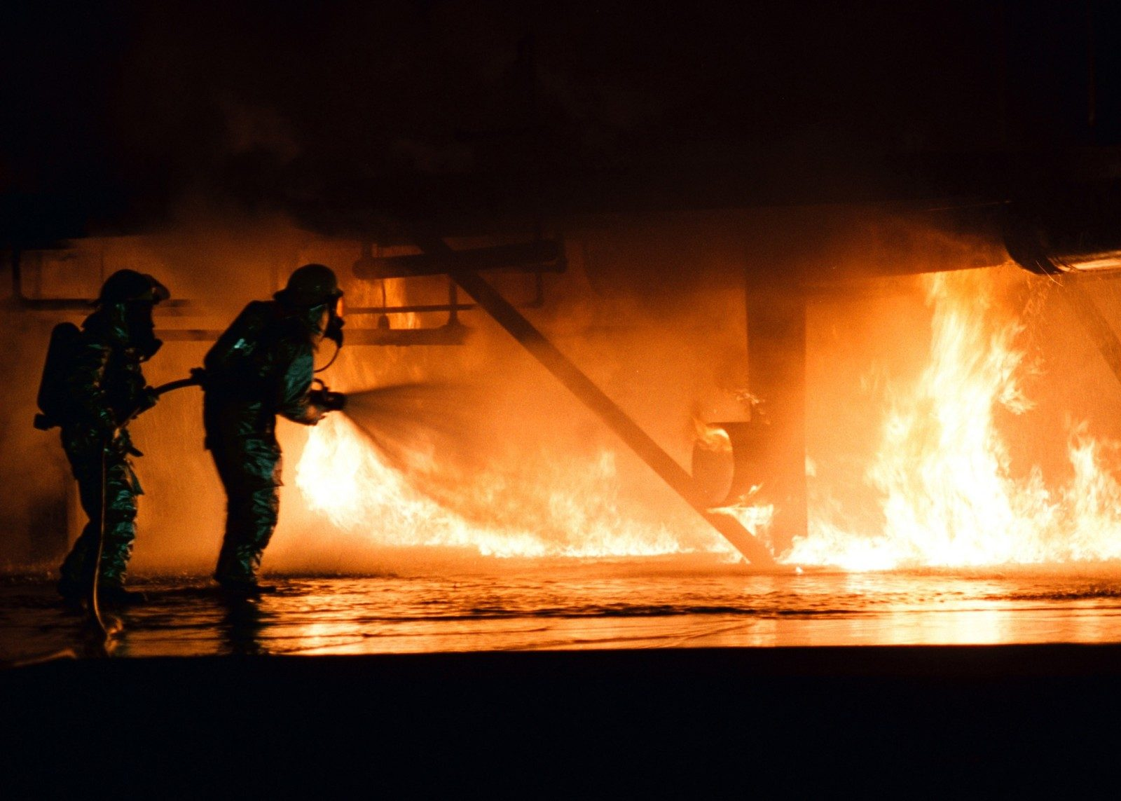 Important incendie à Vézelise (54), dans un local du Secours Populaire