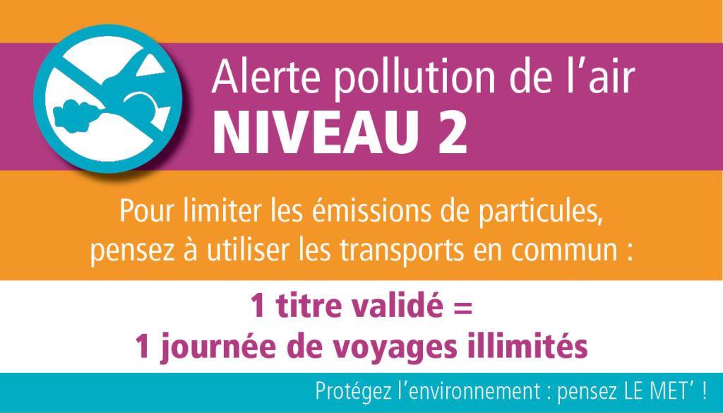 Pollution : ce 20 mars, voyagez en en illimité sur le réseau Le Met'