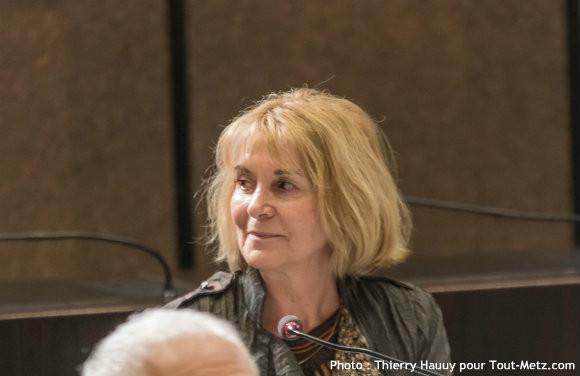 Sonia CRISTINELLI-FRAIBOEUF, lors de l'installation du conseil départemental le 02 avril 2015