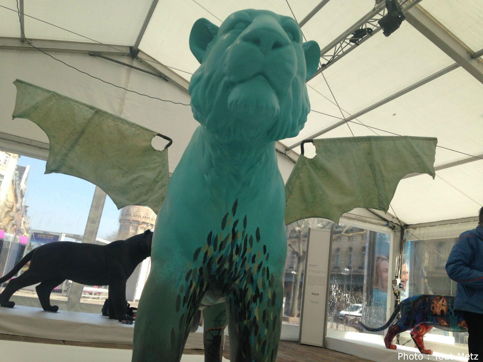 Exposition : balade en photos au milieu des tigres, à Metz