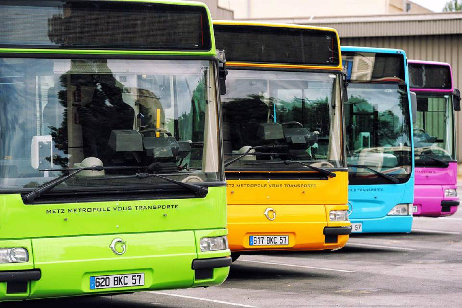 Réseau de bus à Metz Métropole : jours fériés et préavis de grève