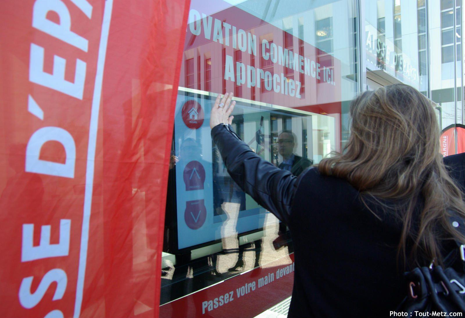 Numérique : la Caisse d'Epargne a choisi Metz pour expérimenter les agences bancaires nouvelle génération