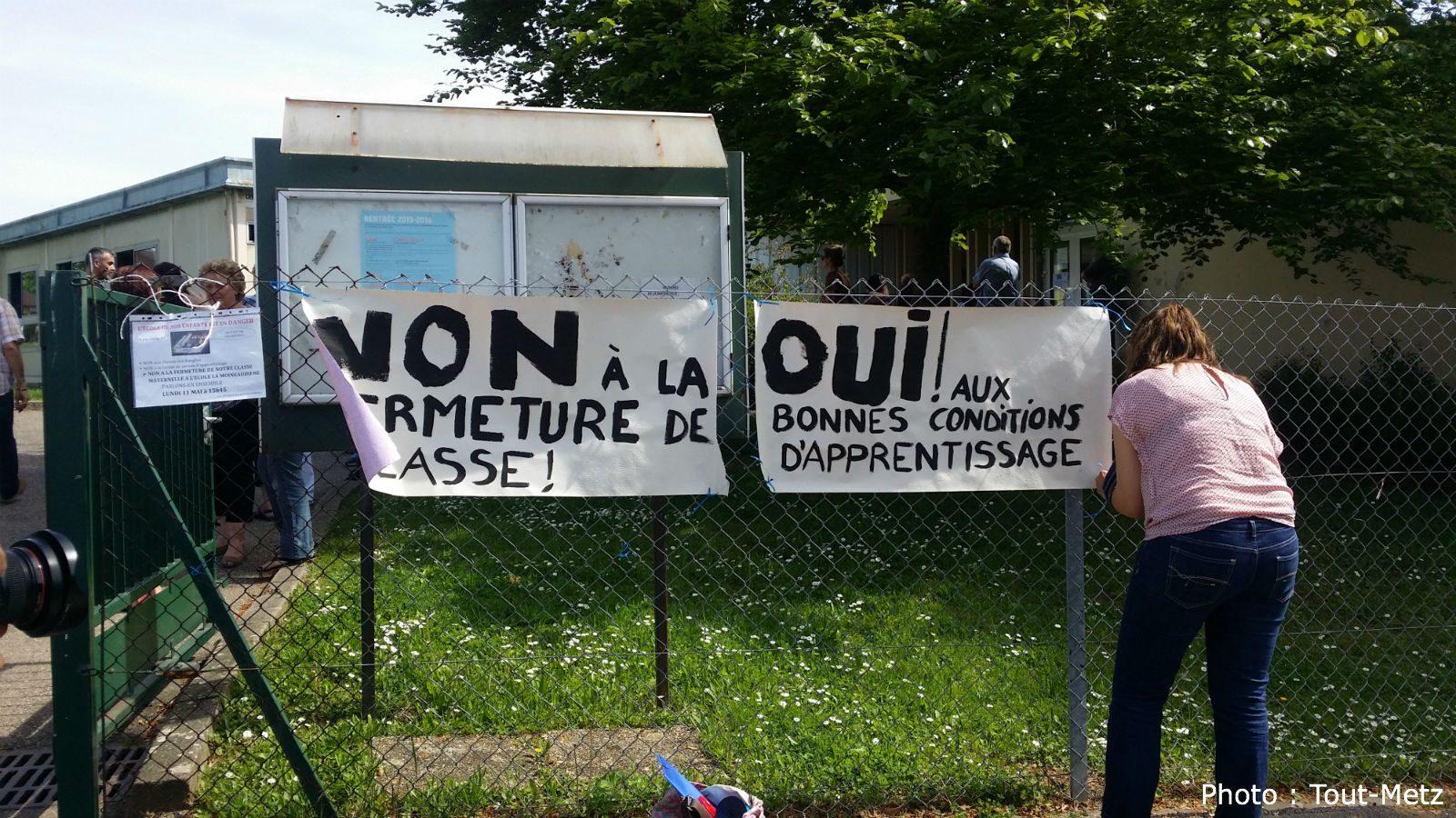 École «La Moineaudière» à Metz-Magny : les parents soulagés