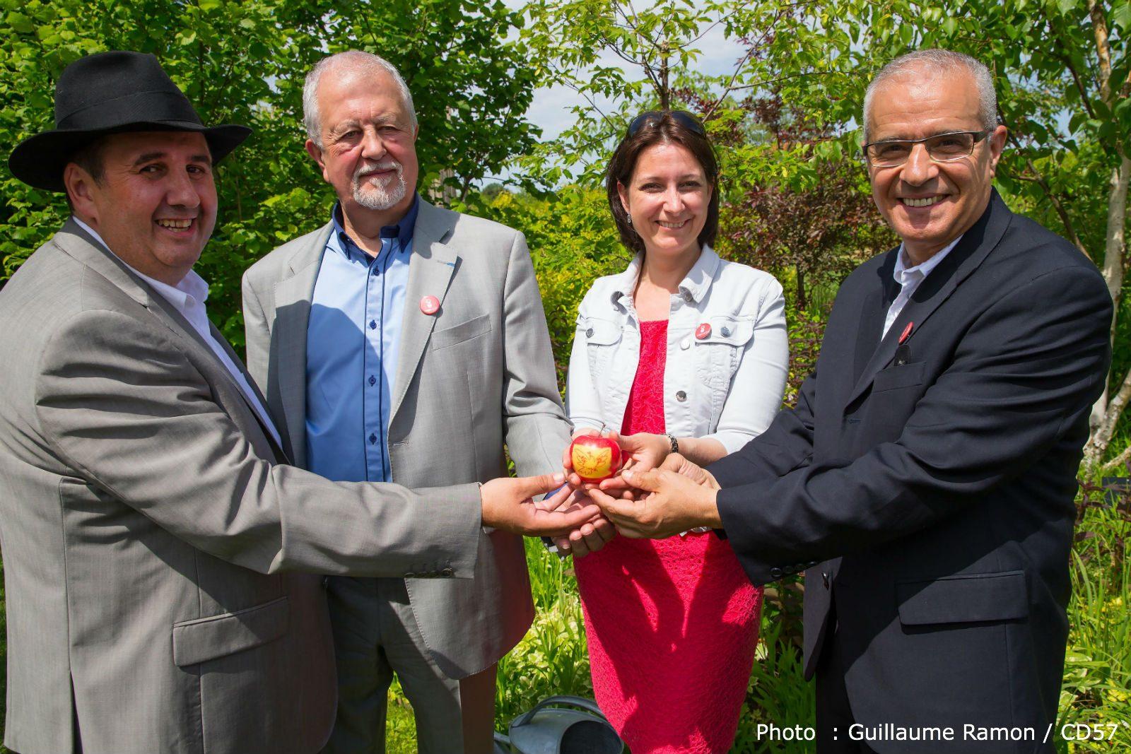 Ahmed Djoghlaf, Mr Biodiversité de l'ONU, en visite en Moselle