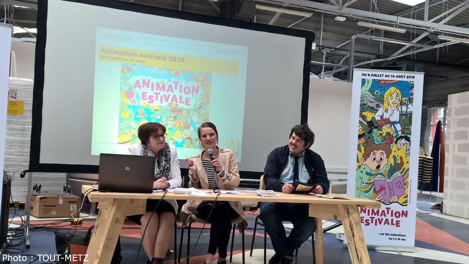 Animation Estivale à Metz : numérique, sport et culture animeront l'été des enfants