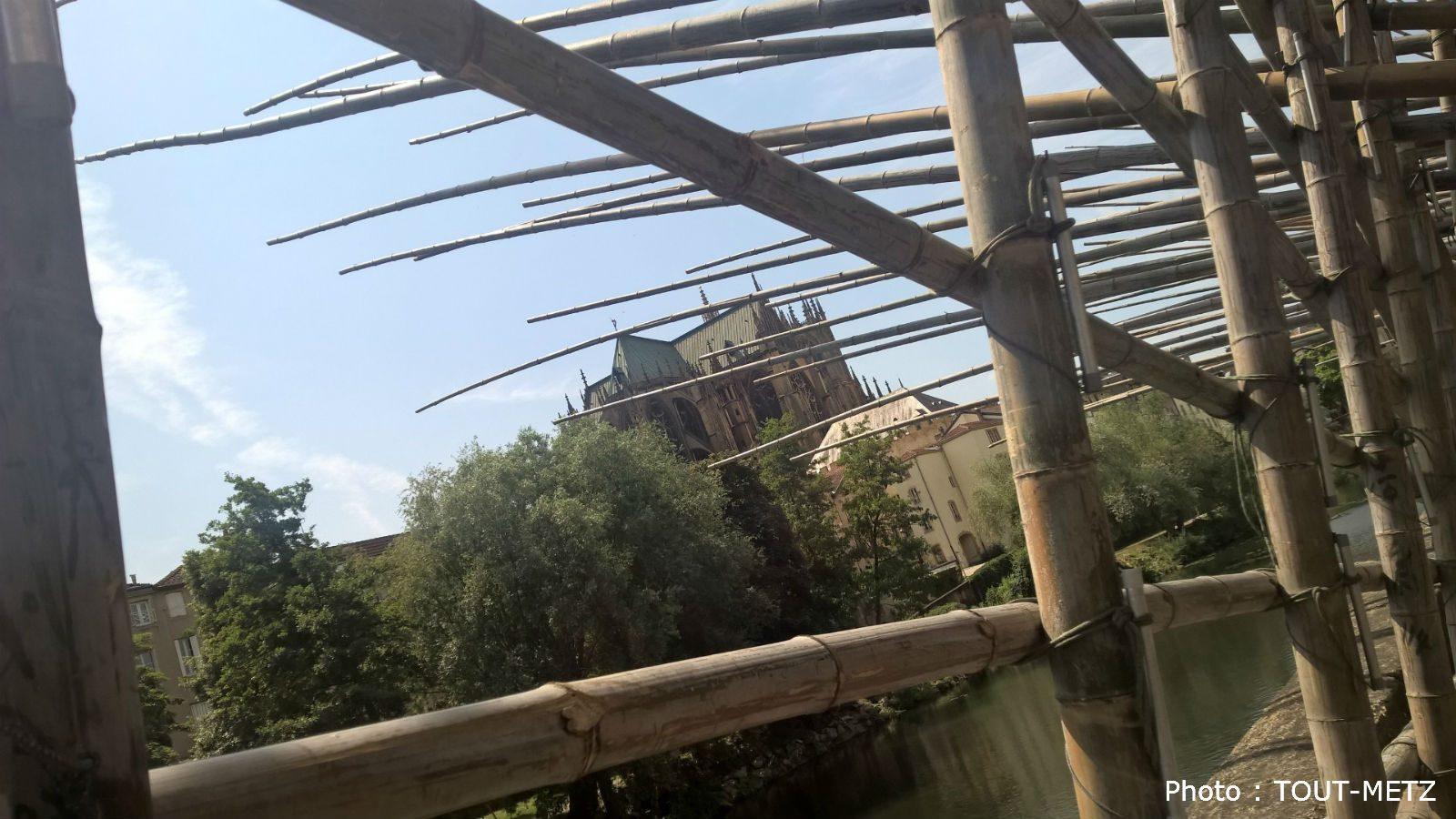A découvrir à Metz : le Sentier des Cabanes Sonores (photos)