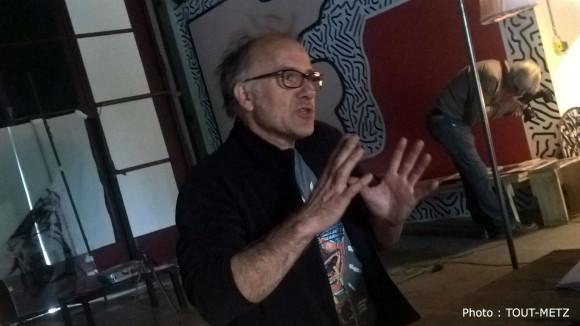 Christophe Prenveille, directeur artistique de la Compagnie Carabosse