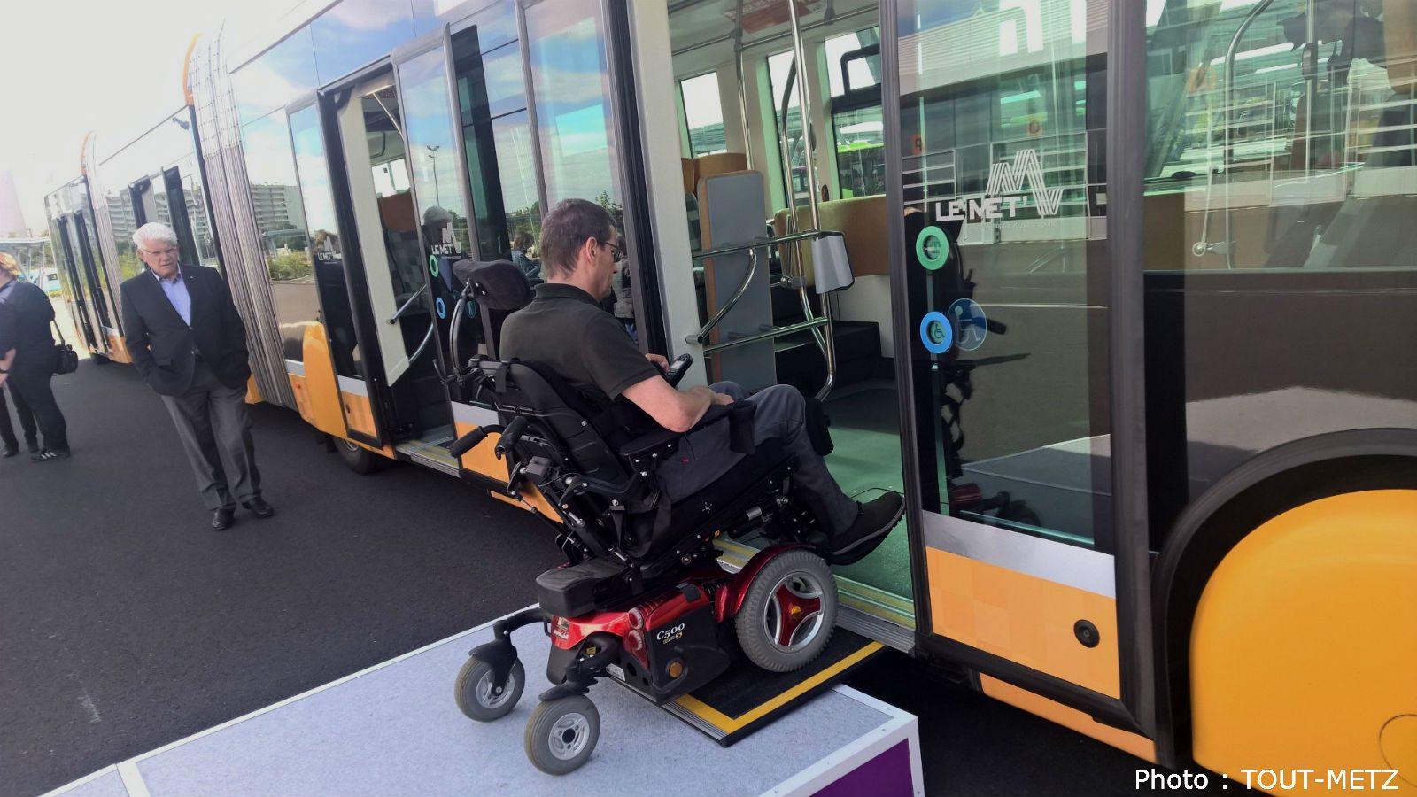 Les Mettis bientôt équipés de nouvelles rampes d'accès pour fauteuils roulants