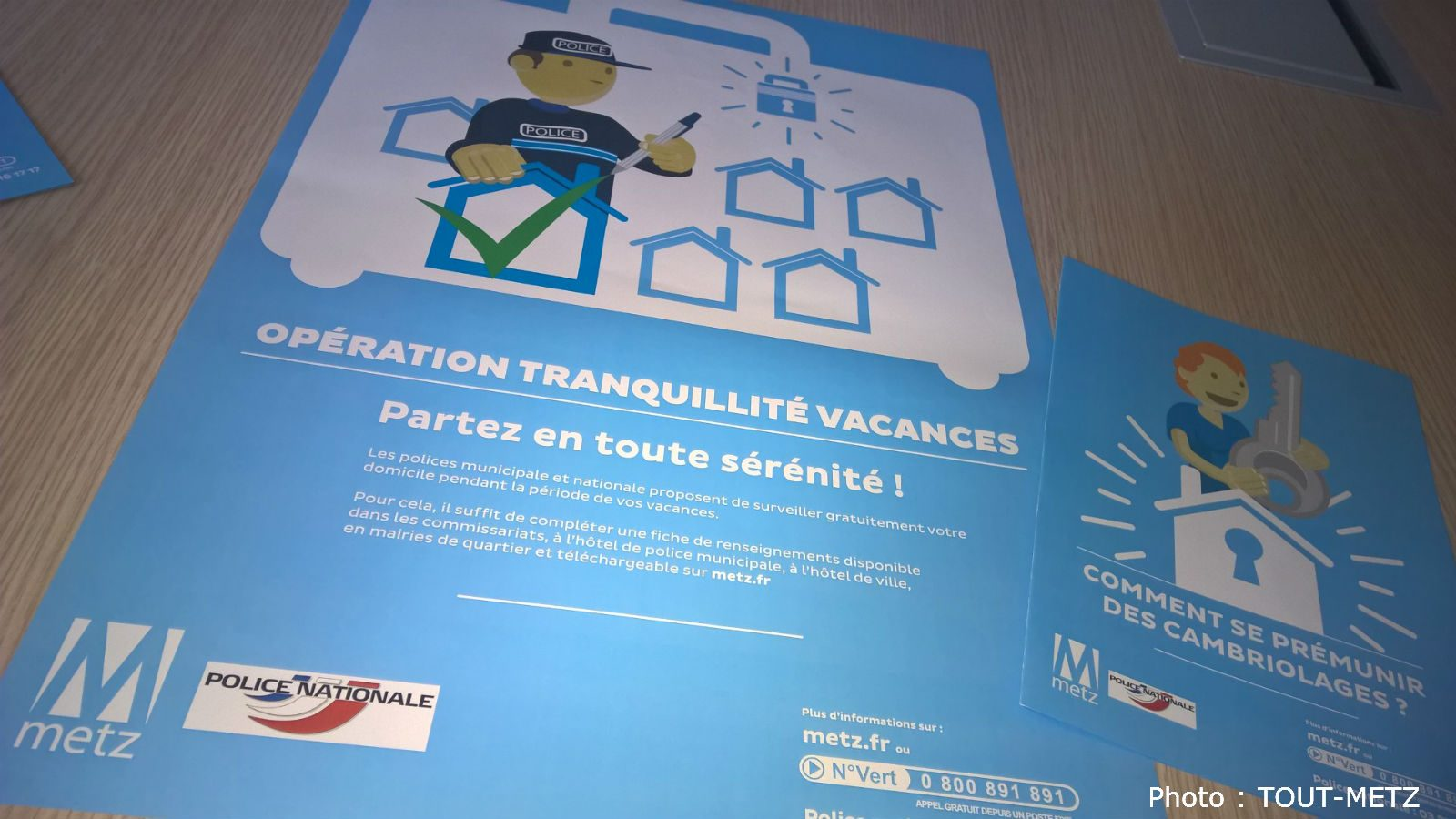 Photo de Cambriolages à Metz : faites surveiller votre logement pendant vos vacances