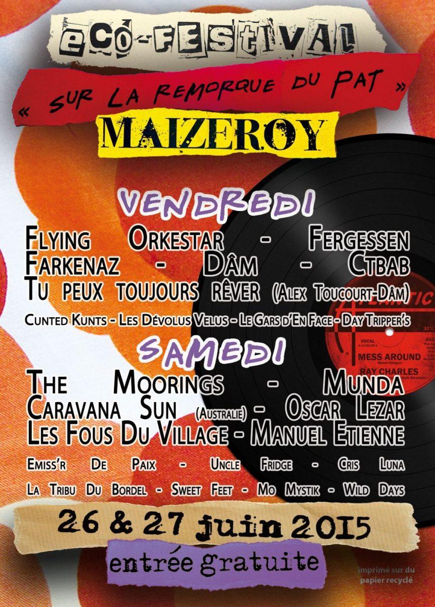 Festival : des concerts à la pelle sur la Remorque du Pat'