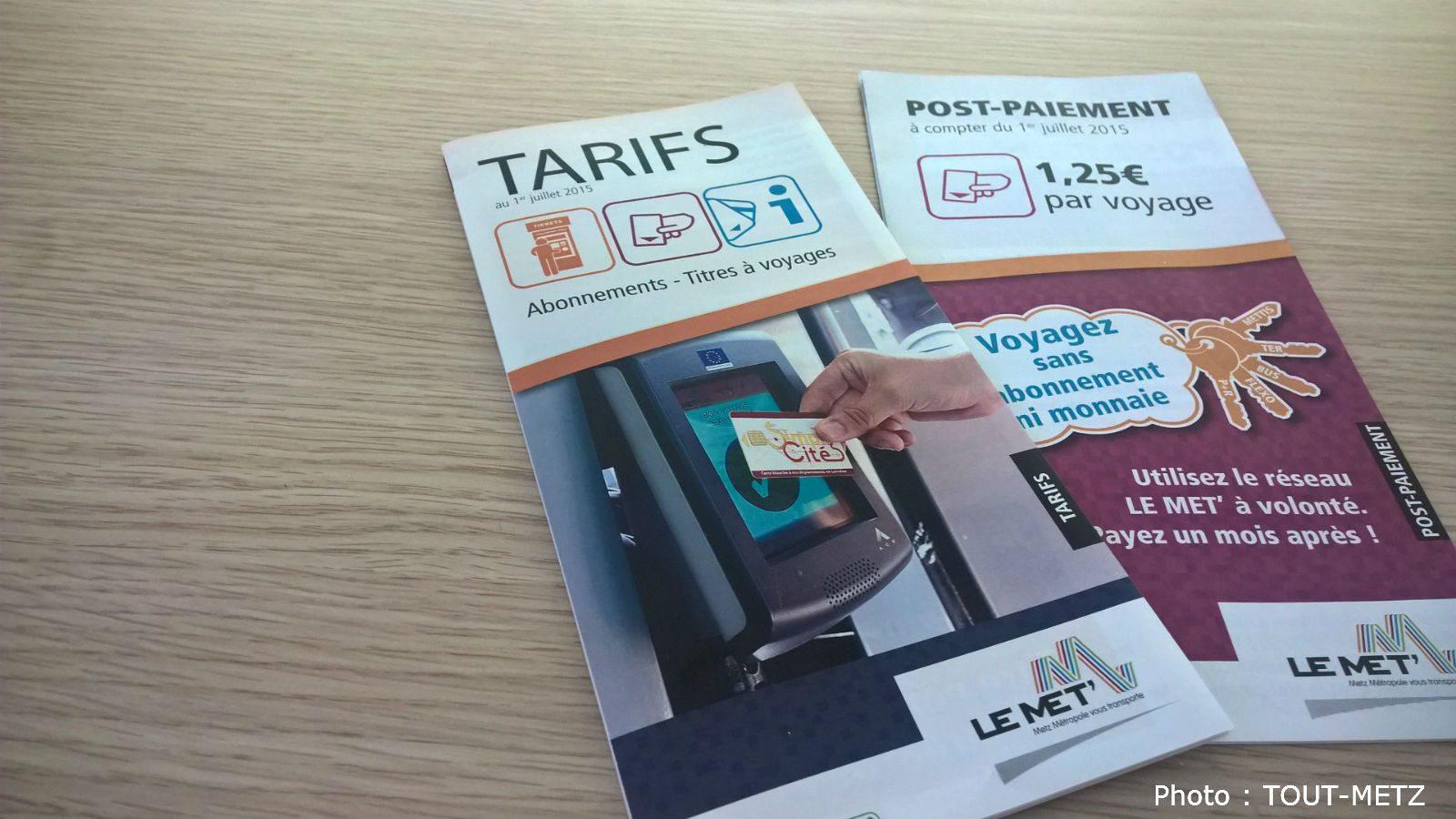 Nouvelle hausse des prix du ticket de bus à Metz dès juillet