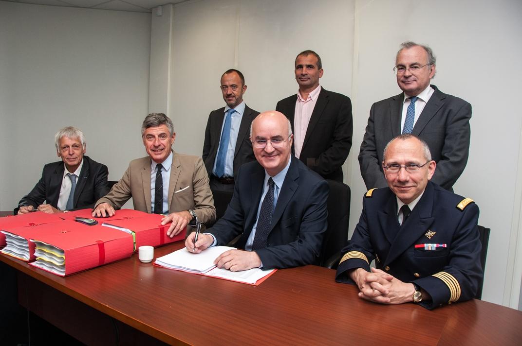 Metz Métropole devient officiellement propriétaire de l'ex BA 128